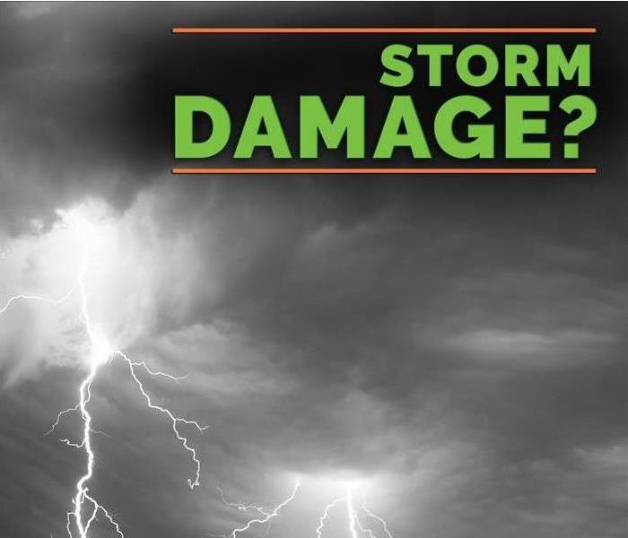 Storm Damage When Storms or Floods hit Carteret and East Onslow Counties, SERVPRO is ready!
